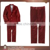 2015 new arrving high quality 100% wool red velvet suits boy                                                                         Quality Choice                                                     Most Popular