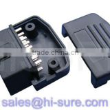 J1962 OBDII male connector for gps tracker obd2