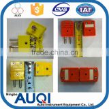 N type wire connector, thermocouple RTD use male and female electrical connector, K/N type thermocouple connector