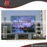 Outdoor P4.81 full color led commercial advertising display screen for performance show in 1000mm cabinet size