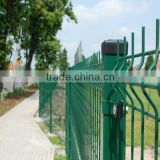 Fence Mesh Application and Plastic Coated Iron Wire,Low-Carbon Iron Wire Material 3D welded wire mesh fence