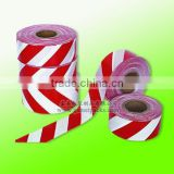 custom 500M plastic red-white barricade tape , Guangdong Factory