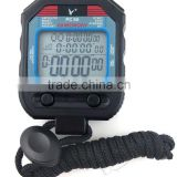 Fine Professional Sports Large Screen 60 split recallable memory Stopwatch Timer PC90