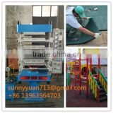 Xlb-500 Rubber Brick Molding Machine Vulcanizing Machine Rubber Tile Making Machine