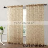New style home sheer indian print curtains