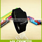 10 colours available in stock fashion new mirror touch screen led watch wholesale