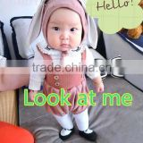Cartoon baby suits lovely clothes Korean version of the suit, many parents like the style