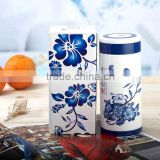 Customized logo Vacuum Seal Double Wall Stainless Steel Tea Cup Thermos Water Bottle