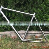 Titanium road bicycle frame super lightTi road bike frame carbon road bike frame made in China