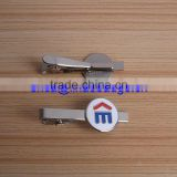 High Quality Soft Enamel Tie Clip Gold Plated Pins/custom color tie clip/pins