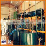 Base oil refinery from waste car/truck/ship engine oil !ZSA china lubricating oil refining
