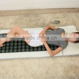 popular FIR far infrared jade stone heating mattress infrared jade stone bed mat pad jade massage for home