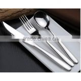 2016 style New Design High-grade stainless steel dinner sets Steak Knife/Spoon/Fork/Coffee spoon/teaspoon Customized logo C25