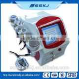 radio frequency skin tightening machine/face vacuum suction machine/body shaping machine