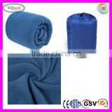 C535 Outdoor Camping Fleece Sleeping Bag Blanket Pad Envelope Polar Fleece Baby Blankets