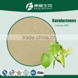 Factory wholesale 100% natural Kava Kava Powder free sample kava extract powder 30%-84%Kavalactones Kava Kava Extract Powder