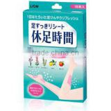 Lion Cooling Sheet Foot Care Patch