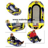 adult snow ski sled, inflatable TOWABLE WATER SKIING SPORTS SLEDING SNOW