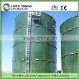 maize/wheet storage silo, poultry silo make of glass lined to steel bolted tanks,
