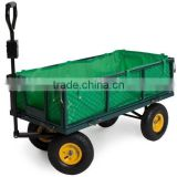 Steel Meshed Garden Cart with Canvas Bag
