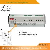 High quality and huge capacity dmx 512 8CH 20A light controller