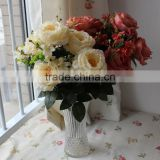 High quality Artificial Silk wedding flower Rose,Artificial Handmade Foam Flower Craft for Wedding Decoration