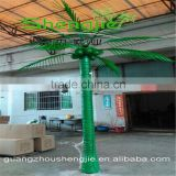 SJLJ013328 artificial palm tree with lights / decorative plastic lighting coconut palm tree / led tree