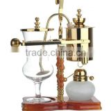 gold royal balancing belgium syphon/ siphon coffee maker