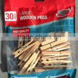 2014 new designed multifunction large line wooden cloth pegs, Direct factory/Manufactory supply/industrial