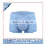 10% spandex 90% cotton mens pouch boxer briefs with custom elastic waistband