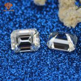 Cheapest price 8mm 2CT loose gem stones GH color emerald fancy cut lab created moissanite diamonds​