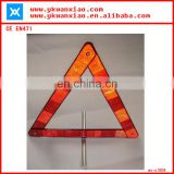 high visibility led flashing light warning triangle meeting EN471
