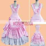 Rose Team-Free Shipping Custom Made Southern Belle Pink Dress Civil War Ball Gown Sexy Carnival Halloween Costume