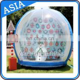 Customized Inflatable Show Globe, Dome Inflatable Bubble Tent For Commercial Advertising Display