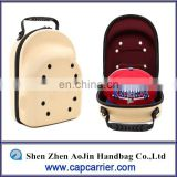 2017 Shenzhen Authentic cheap Carrier case 6 Hat Storage Sport baseball cap box bag