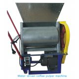 motor-driven coffee bean pulper machine