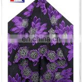 Specific Flower African Swiss Voile Lace Fabric