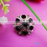 2015 newest shinning bailange custom rhinestone plating metal buttons for garment accessory
