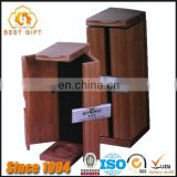 TOP SUPPLIER Timber Wood Box for Two Wine Bottles