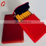 PU silicone portable cigarette case cigarette box