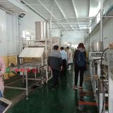 Full automatic soybean oil skin machine, the production line of humus machinery and equipment large - scale huzhu machine factory direct selling