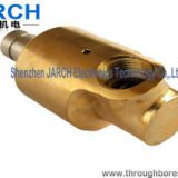 Casting Copper Pneumatic Rotary Union / Pneumatic Fittings Anti Corrosion , CE FCC Compliant