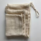 Organic cotton market bag, crochet net bag, farmers market bag, reusable shopping bag, eco-friendly, zero waste, grocery tote, mesh bag
