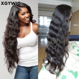 XGYWIG Stock 100% virgin unprocessed Brazilian Natural Color with baby hair 8