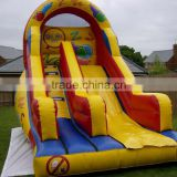 New finished inflatable dry slide bouncer inflatable happy hop climbing adults baby slide