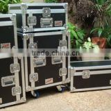 2013 Large Aluminum stage Case .flight case ,stage case ,with 4 wheels ,Aluminum plywood and HPL case .