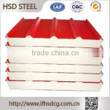 Buy wholesale from china Steel Sheets,pvc coated galvanized iron eps insulated panel for wall