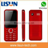 "spreadrum6531DA 2.4"" cheap gsm unlocked cell phone with camera whatsapp hot sell in South America factory sell directly"