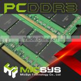so-dimm PC3-1333 laptop ram ddr3 4gb with free oem logo print