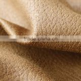 Bright leather-look embossed sofa fabric with nonwoven back/PVC                                                                         Quality Choice